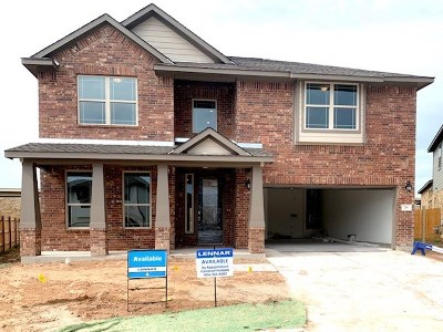 Hutto Single Family Home For Sale: 718 Hereford Loop