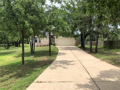 Cedar Creek Single Family Home For Sale: 116 Martin Crossing Dr