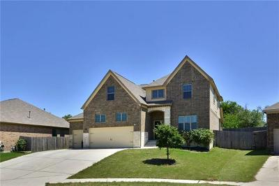 Leander Single Family Home For Sale: 1814 Paseo Verde Dr