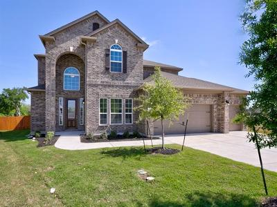 Leander Single Family Home For Sale: 1136 Laceflower Ln