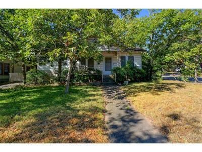 Hays County, Travis County, Williamson County Single Family Home For Sale: 501 E Mary St