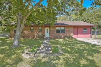 Bastrop County Single Family Home For Sale: 502 Ash St