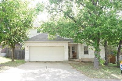 Leander Single Family Home For Sale: 405 Las Colinas Dr