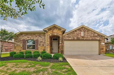 Hutto Single Family Home For Sale: 109 Hendelson Ln
