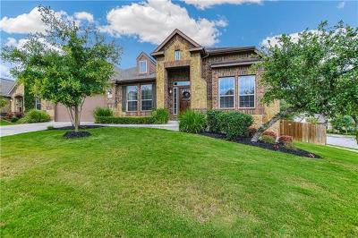 Travis County Single Family Home Pending - Taking Backups: 8700 Old Corral Cv