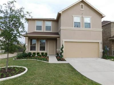 Travis County Single Family Home Pending - Taking Backups: 11021 Kirkland Hill Path