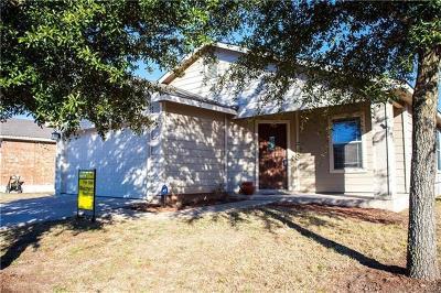 Hutto Single Family Home Pending: 422 Quail Hollow Dr