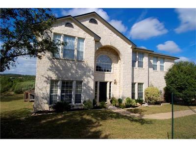 Spicewood Single Family Home For Sale: 4818 Creek Meadow Cv