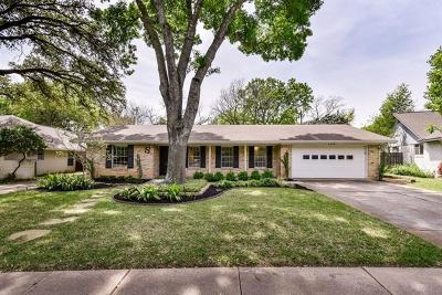 Single Family Home For Sale: 7710 Shoal Creek Blvd