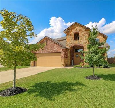 Jarrell Single Family Home For Sale: 109 Hondo Gap Ln