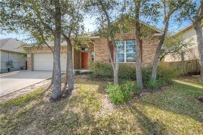 Leander Single Family Home For Sale: 1816 Baranco Way