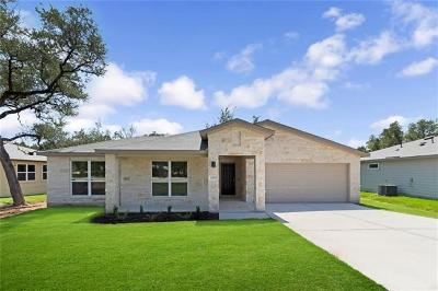 Lago Vista Single Family Home For Sale: 21717 Crystal Way