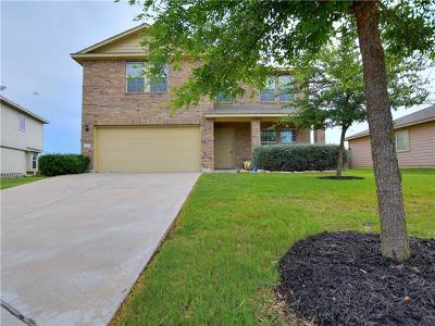 Manor Single Family Home For Sale: 13212 High Sierra St