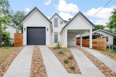 Austin Single Family Home For Sale: 2921 E 16th St #2