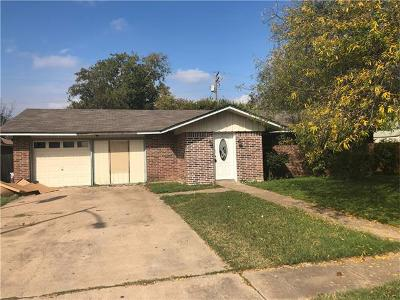 Travis County Single Family Home Pending - Taking Backups: 12504 Limerick Ave
