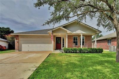 Leander Single Family Home For Sale: 3305 Madeira Cv