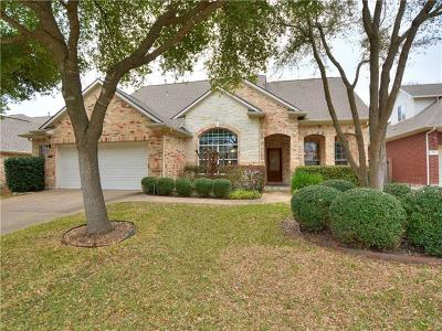 Cedar Park Single Family Home Pending - Taking Backups: 1713 Nelson Ranch Loop