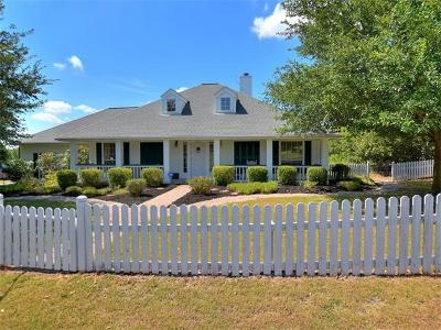 Hutto Single Family Home For Sale: 301 Morningside Cir