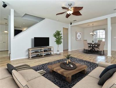 Manor Single Family Home Pending - Taking Backups: 13605 Arbor Hill Cv