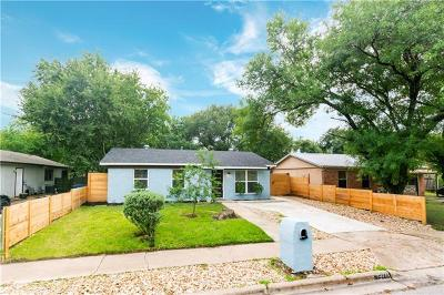 Single Family Home For Sale: 6201 Carnation Ter