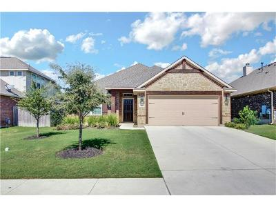 Round Rock Single Family Home For Sale: 5906 Parma St
