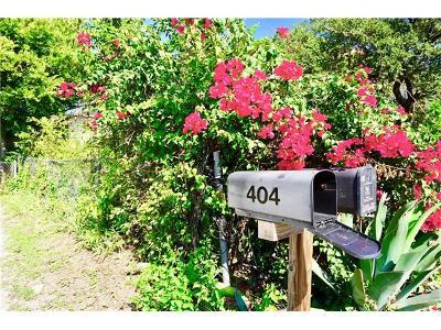 Austin Residential Lots & Land For Sale: 402 Oertli Ln