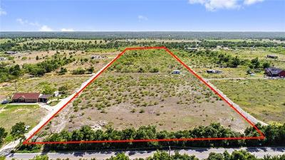 Manor Residential Lots & Land For Sale: 21909 Hog Eye Rd