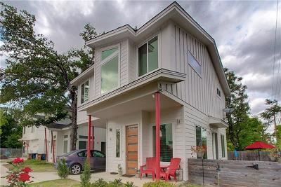 Austin Single Family Home For Sale: 2512 Wheless Ln #6