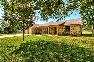 Bastrop County Single Family Home Pending - Taking Backups: 905 Marvins Cv