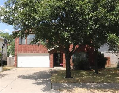 Cedar Park Single Family Home For Sale: 1019 Silverstone Ln