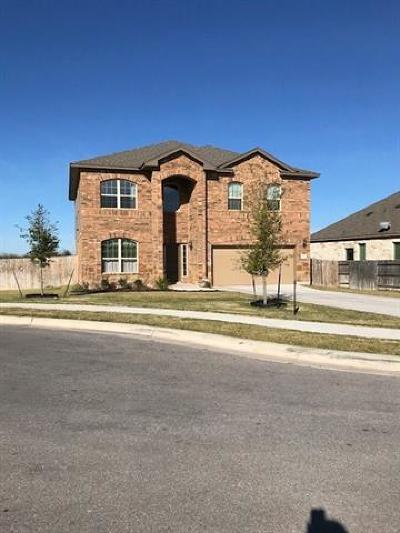 Pflugerville Single Family Home For Sale: 708 Carillion Dr