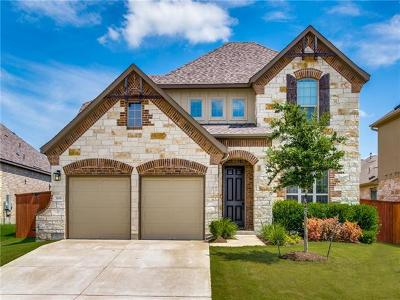 Leander Single Family Home For Sale: 3108 Bouchette Cv