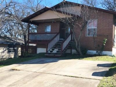 Austin Single Family Home For Sale: 1603 J J Seabrook Dr