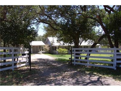 Wimberley Single Family Home For Sale: 17520 Ranch Road 12