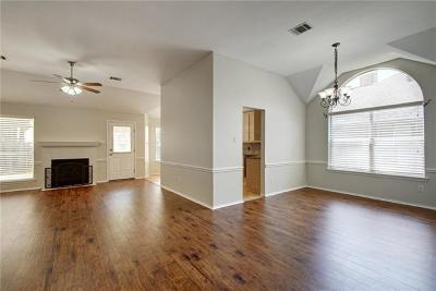 Cedar Park Single Family Home Pending - Taking Backups: 304 Mesa Verde St