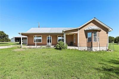 Dripping Springs Single Family Home For Sale: 1200 Hart Ln