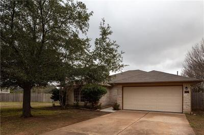 Cedar Park Single Family Home For Sale: 1000 Bohica Way