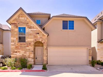Williamson County Single Family Home For Sale: 13001 Hymeadow Dr #10