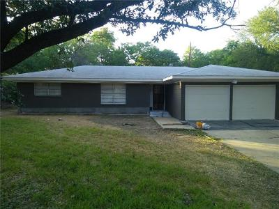 Belton Single Family Home For Sale: 1012 Palmetto St