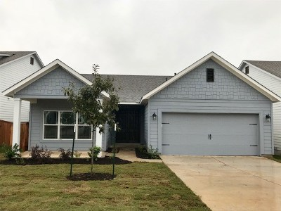 Liberty Hill Single Family Home For Sale: 121 Fire Wheel Pass