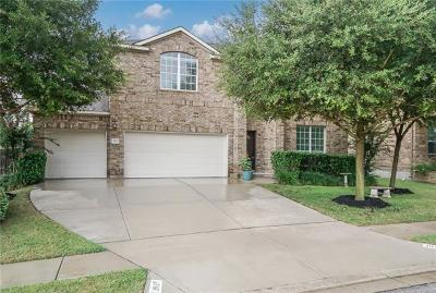 Round Rock Single Family Home For Sale: 3927 Harvey Penick Dr