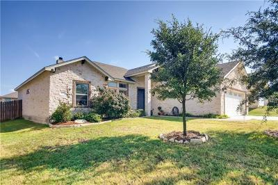 Jarrell Single Family Home For Sale: 109 Walter Way