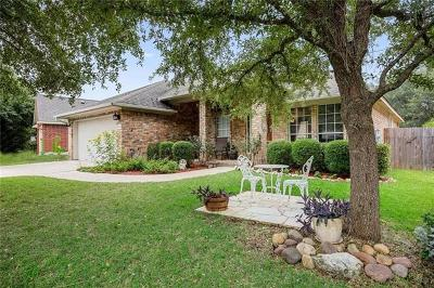 Round Rock Single Family Home Active Contingent: 16815 Willow Oak Ln