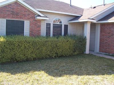 Hutto Single Family Home For Sale: 205 Willowbrook Dr