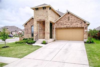 Pflugerville Single Family Home For Sale: 16201 Cantania Cv
