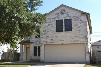 Hays County, Travis County, Williamson County Single Family Home For Sale: 6425 Marble Creek Loop