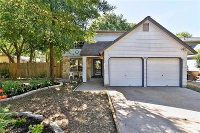 Austin Single Family Home For Sale: 7603 Gaines Mill Ln