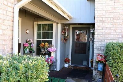 Round Rock Single Family Home For Sale: 2404 Windrift Way