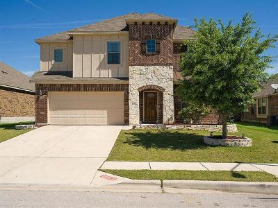 Hutto Single Family Home For Sale: 1006 S Pasture