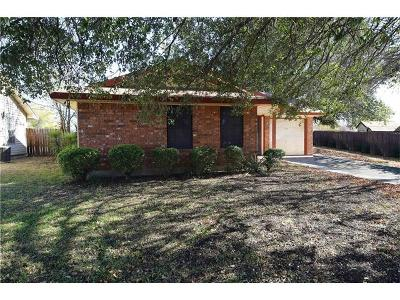 Killeen Single Family Home For Sale: 2202 Chafin Dr